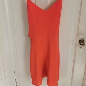 Dynamite Coral Summer dress